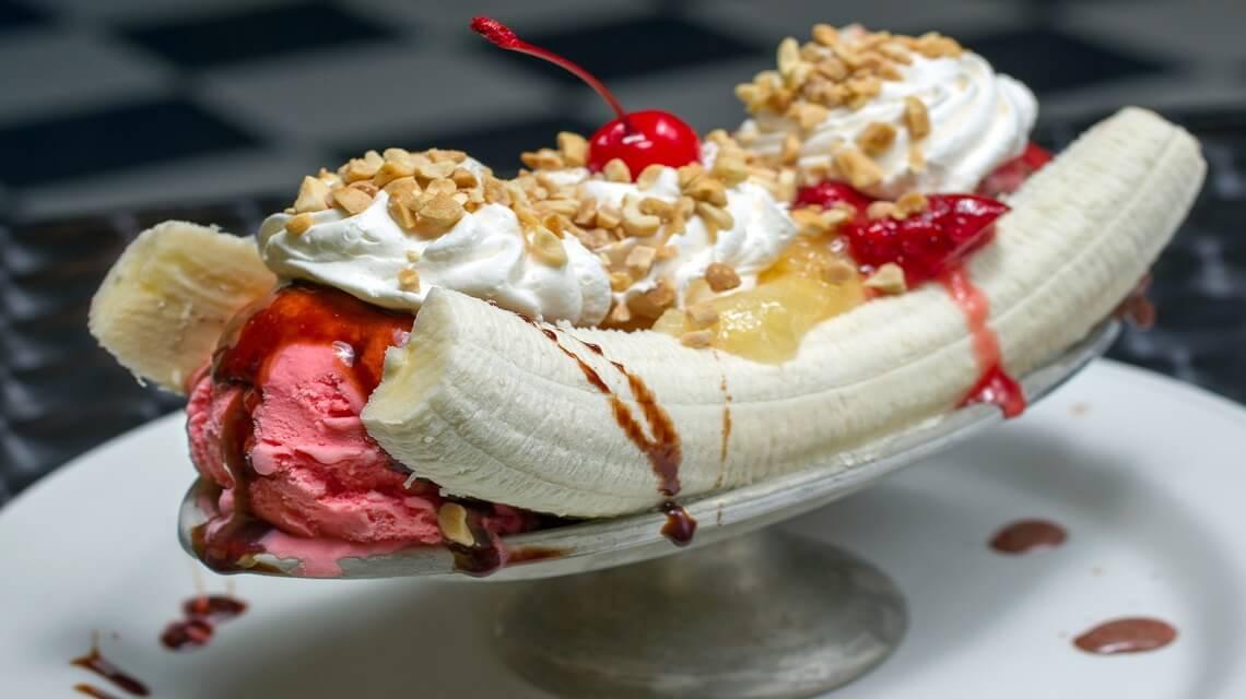 Belle gourmandise: Le Banana split