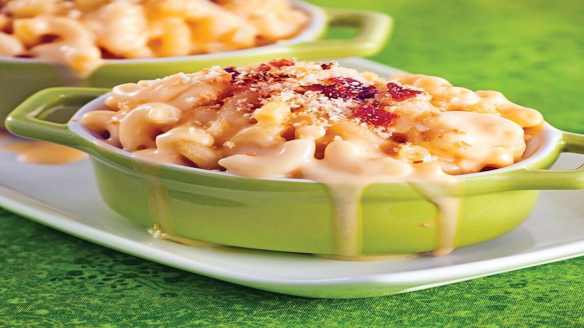 Macaronis au fromage pour petits et grands !