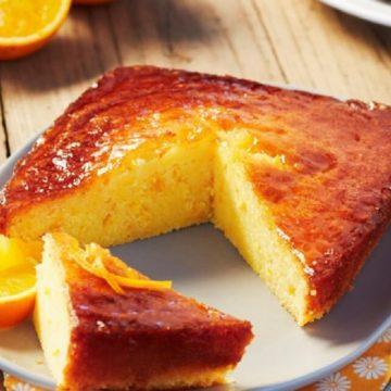 Ce dimanche : l'indémodable cake à l'orange
