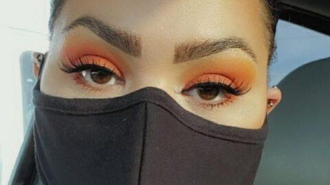 Port du masque pendant les fêtes, comment sublimer le regard?